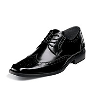 "Stacy Adams® Men's ""Carlyle"" Wing-tip Oxford - Black"