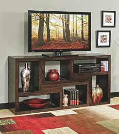 Whalen Furniture Del Mar Modular Wall Unit Entertainment Console