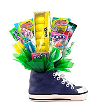 Sweets in Bloom® Blue Hippity Hop - Easter Sneaker Snacker