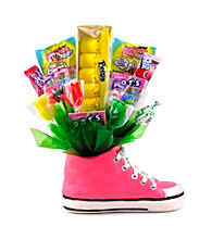 Sweets in Bloom® Pink Hippity Hop - Easter Sneaker Snacker
