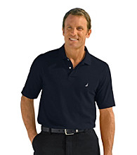 Nautica® Men's Big & Tall Short Sleeve Deck Solid Polo