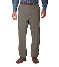 Oak Hill® Men's Big & Tall Waist Relaxer™ Super Soft Chino Pant