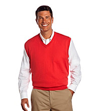 Oak Hill® Men's Big & Tall V-Neck Sweater Vest