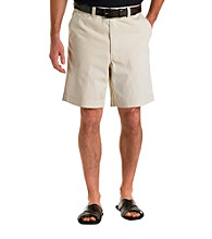 Oak Hill® Men's Big & Tall Waist-Relaxer Super Soft Chino Short