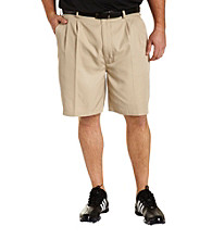 Reebok® Play Dry® Men's Big & Tall Pleated Golf Short