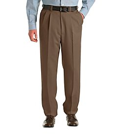 Oak Hill® Men's Big & Tall Pleated Microfiber Pant
