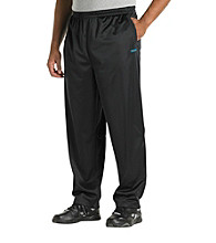 Reebok® Men's Big & Tall Black Play Dry® Classic Track Pant