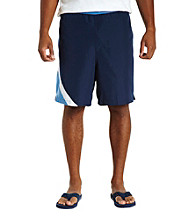 True Nation™ Men's Big & Tall Racing Colorblock Board Short