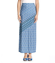 Skye's the Limit® Printed Long Skirt