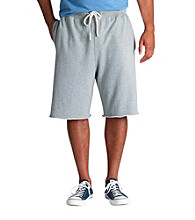 True Nation™ Men's Big & Tall Grey Heather French Terry Short