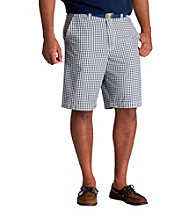 True Nation™ Men's Big & Tall Grey Check Short
