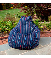 Gold Medal Timeline Nautical Outdoor Weather Resistant Tear Drop Bean Bag