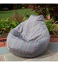 Gold Medal Timeline Caravan Outdoor Weather Resistant Tear Drop Bean Bag