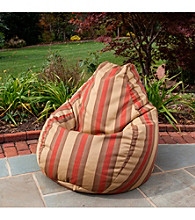 Gold Medal Zenith Brick Outdoor Weather Resistant Tear Drop Bean Bag