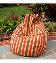 Gold Medal Dimone Sequoia Outdoor Weather Resistant Tear Drop Bean Bag