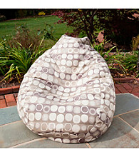 Gold Medal Mankala Dusk Outdoor Weather Resistant Tear Drop Bean Bag