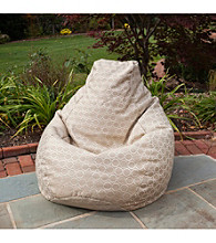 Gold Medal Pango Wren Outdoor Weather Resistant Tear Drop Bean Bag