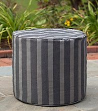 Gold Medal Parkway Carbon Outdoor Weather Resistant Ottoman