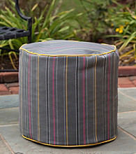 Gold Medal Timeline Caravan Outdoor Weather Resistant Ottoman