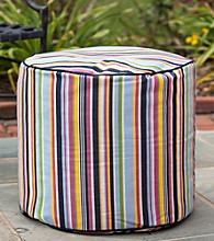 Gold Medal Steeplechase Malibu Outdoor Weather Resistant Ottoman