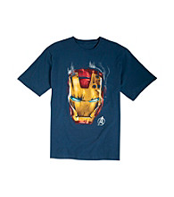 True Nation™ Men's Big & Tall Navy Marvel Comics Iron Man
