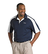Reebok® Men''s Big & Tall Golf Play Dry® Colorblock Polo