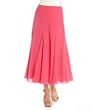 Ruby Rd.® Long Solid Maxi Skirt