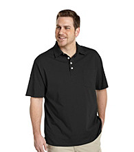 True Nation™ Men's Big & Tall Short Sleeve Jersey Pocket Polo