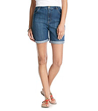 Gloria Vanderbilt® Amanda Cuff Denim Short