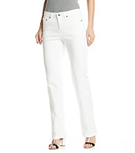 Jones New York Sport® White Bootcut Jean