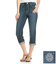 Nine West Vintage America Collection® Rand Cuffed Cropped Jeans