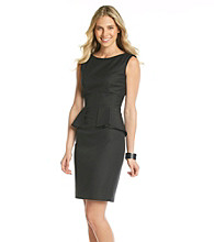 T Tahari® Myra Peplum Dress