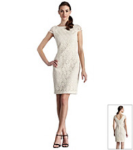 Muse Daisy Floral Embroidered Sheath Dress
