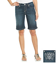 Nine West Vintage America Collection® Petites' Embellished Bermuda Shorts
