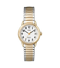 Timex® Women's Easty-To-Read Dial with Two-Tone Expansion Band