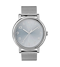 Timex® Women's Originals with Silver Classic Round Dial and Silvertone Mesh Bracelet