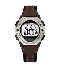 Timex® Men's Expedition Brown Chronograph/Alarm/Timer