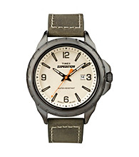 Timex® Men's Expedition Metal Field with Cream Dial