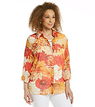Alfred Dunner® Plus Size Blouse and Tank