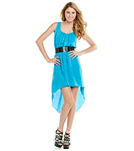City Triangles® Juniors' Racerback Hi Low Dress