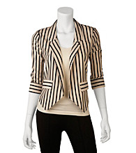 A. Byer Juniors' Stripe Jacket