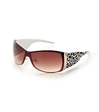 Icon Leopard Arm Shield Sunglasses