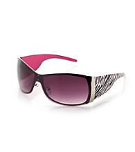 Icon Zebra Arm Shield Sunglasses