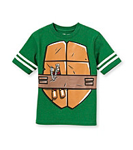 Teenage Mutant Ninja Turtles® Boys' 4-7 Green Short Sleeve Body Tee