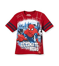 Spider-Man® Boys' 4-7 Red Short Sleeve Ulitmate Hero Tee