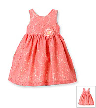Heartworks Baby Girls' Coral Lace Dress