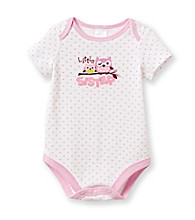Cuddle Bear® Baby Girls' Pink Heart Print