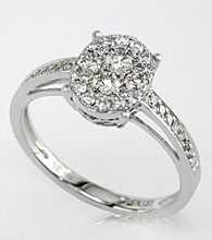 Effy® .56 CT. T.W. Diamond Ring in 14K White Gold