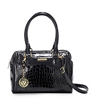 AK Anne Klein® Black Color Rush Small Satchel