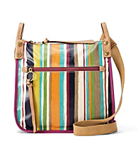 Fossil® Bright Stripe Key-Per Crossbody